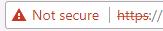 chrome-not-secure-redbar